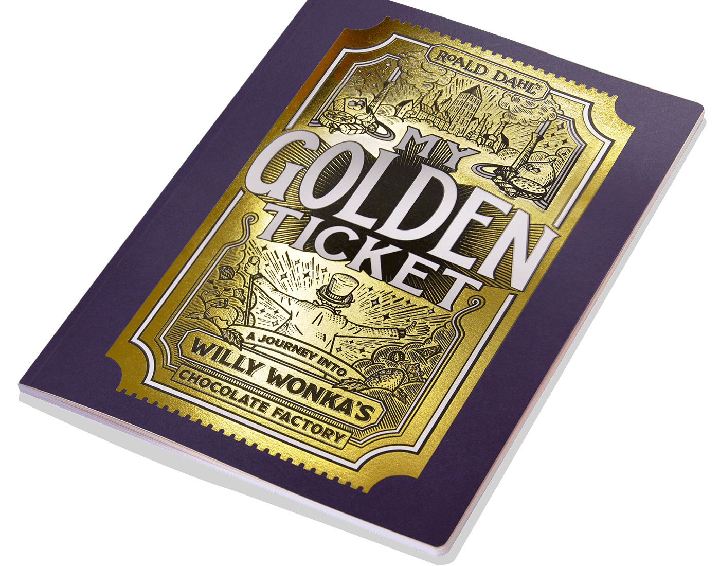 My golden ticket book