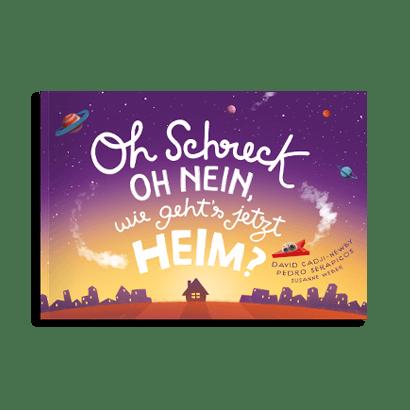 An image of the Oh Schreck, oh nein, wie geht´s jetzt heim? product